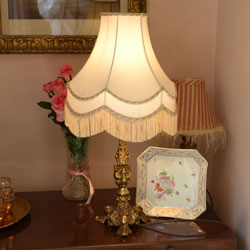 Vintage brass lights lamps ornate cast brass vintage table lamp ornate cast brass vintage table lamp and shade aloadofball Choice Image