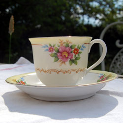 Vintage Floral Tea Set For 2 Antique China Tea Sets Bone China Tea Set