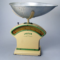 Salter Model 300 Cookery Scales C1940 Vintage Salter